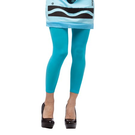 Adult Crayola� Blue Footless Tights by Rasta Imposta 4581-03 - Rasta Imposta Squirrel Costume