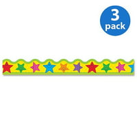 (3 Pack) Trend, TEPT92134, Stars Terrific Trimmers, 12 / Pack, Assorted