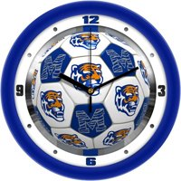 Memphis Tigers Soccer Wall Clock