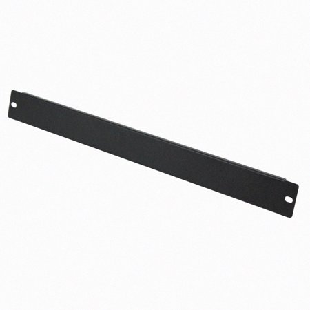Navepoint 1U Blank Rack Mount Panel Spacer For 19-Inch Server Network Rack Enclosure Or Cabinet Black