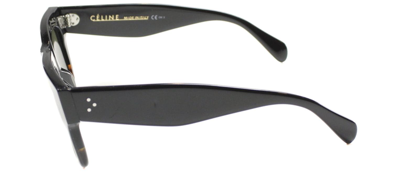 0a82a66246 Celine - Celine 41054 S Sunglasses-0FU5 Black Havana Tortoise (1E Green  Lens)-50mm - Walmart.com