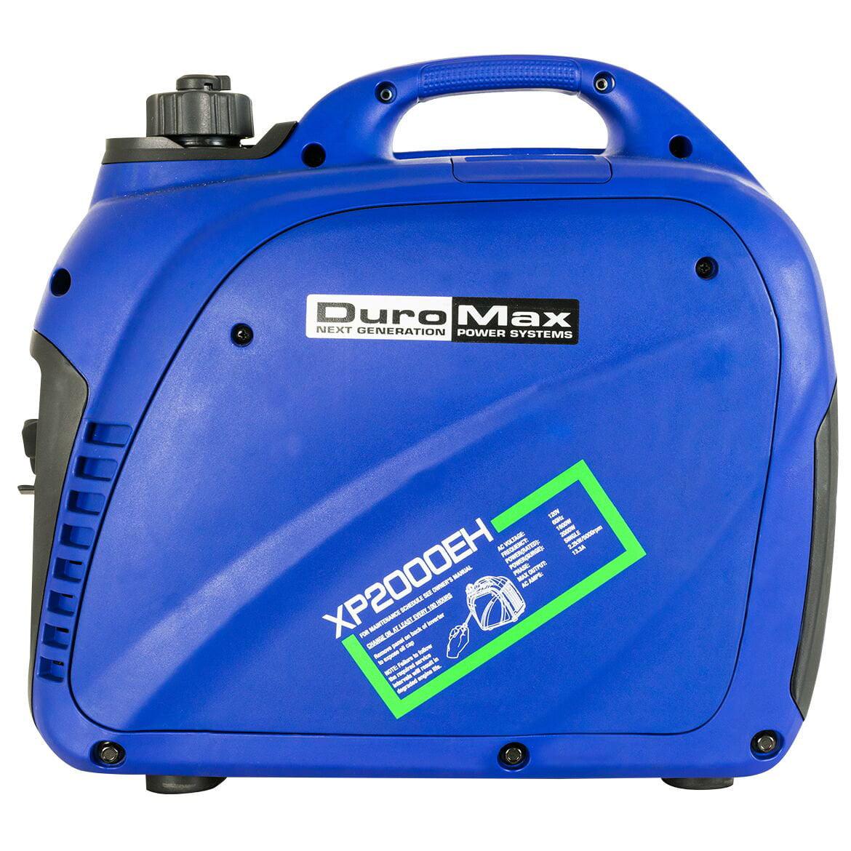 DuroMax XP2000EH 2000 Watt Dual Fuel Digital Inverter Hybrid Portable Generator