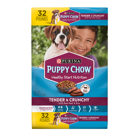 Puppy Chow Tender & Crunchy Dry Puppy Food - 32 lb. Bag - Halloween Puppy Chow