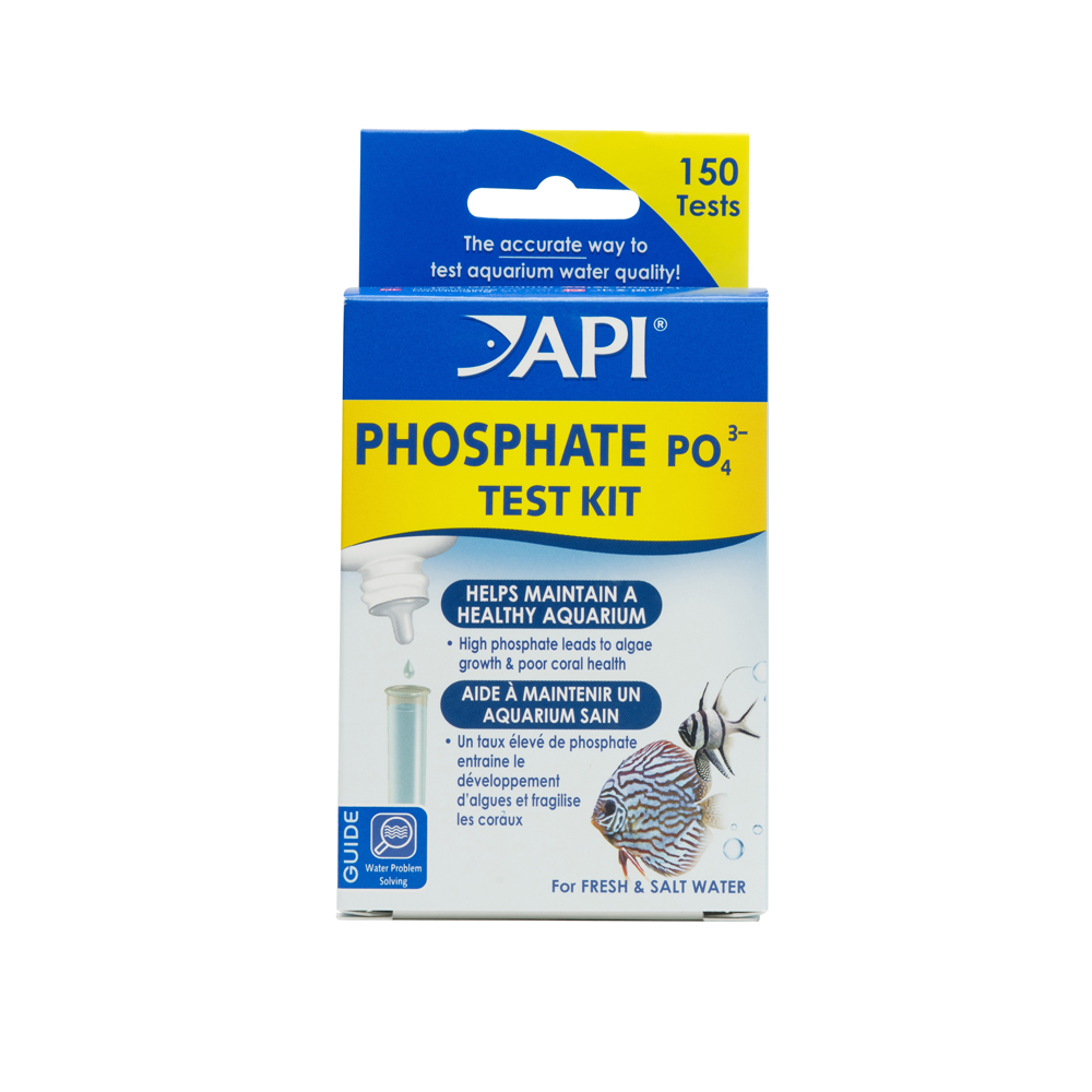 API Phosphate Test Kit, Aquarium Water Test Kit, 1-Count
