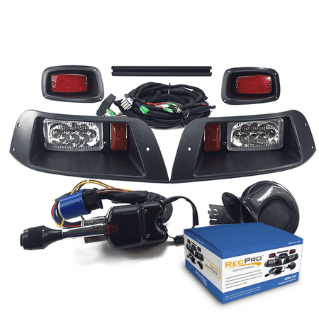 EZGO TXT Deluxe Street Legal ALL LED Light Kit Models (1996-2013)