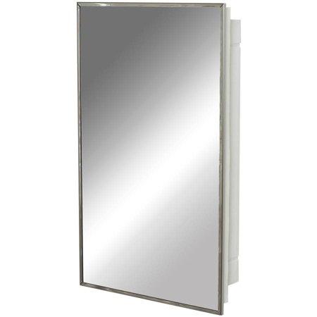 Zenith 105 Stainless Steel Frame Medicine Cabinet. Zenith 105 Stainless Steel Frame Medicine Cabinet   Walmart com