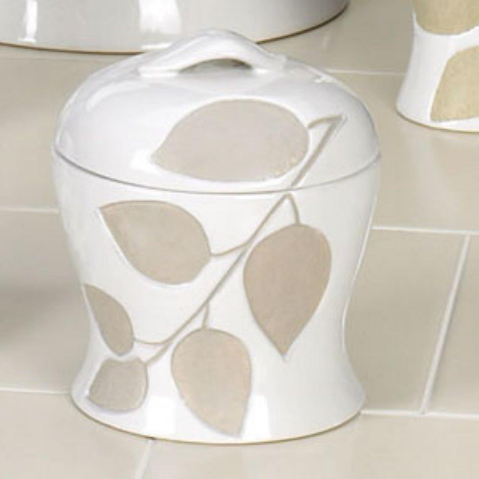 Shadow Leaves Jar
