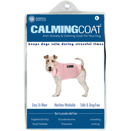 AKC Calming Coat Anti-Anxiety Stress Relief Coat For Your Dog