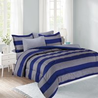 Show Your Colors 11-Piece Bed in a Bag with Extra Sheet Set Full