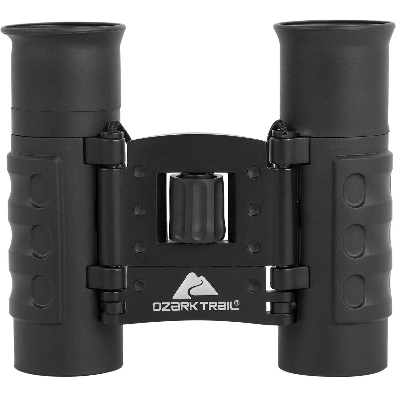 Ozark Trail 8x21 Lightweight Binocular, Black by Explore Scientific