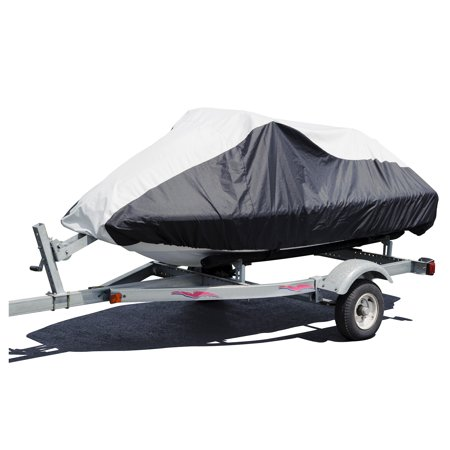 Deluxe Marine (Budge Sportsman Deluxe Personal Watercraft / Jetski Cover, Ultimate Outdoor Protection for Trailering and Storage, Multiple Sizes)