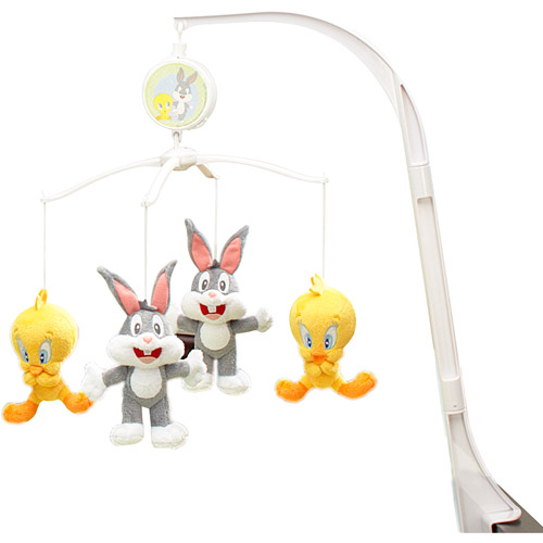 Baby Looney Tunes Musical Mobile Nature's Fantasy by Crown Crafts
