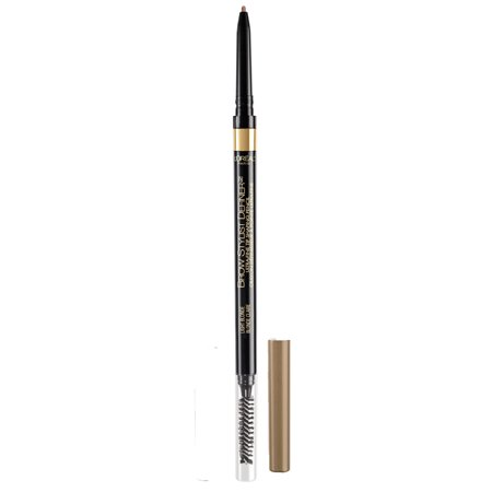 L'Oreal Paris Brow Stylist Definer Waterproof Eyebrow Mechanical Pencil, Light