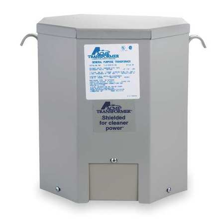 Acme Electric TF279267S Transformer, 1 Phase, 25kVA, 120/...