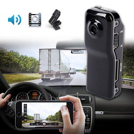 Miniature Video Recorder (Mini Camera 720 * 480 Portable Nanny Cam Video Recorder Support 8G TF Card, Pocket Body)