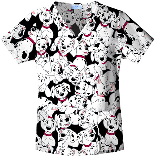 101 Puppies Vneck Top