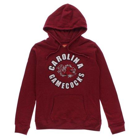 South Carolina Gamecocks Crew Sweatshirt (Cover One Womens Carolina Gamecocks Pullover hoodie Red)
