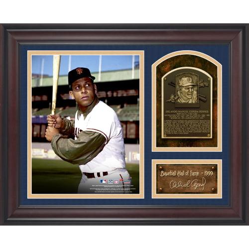 "Orlando Cepeda San Francisco Giants Fanatics Authentic Framed 15"" x 17"" Baseball Hall of Fame Collage with Facsimile Signature - No Size"