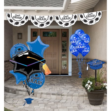 Party City Congrats Grad Graduation Outdoor Decorating Kit, Includes Bunting, a Yard Sign, and Balloons](Party City Whittier)