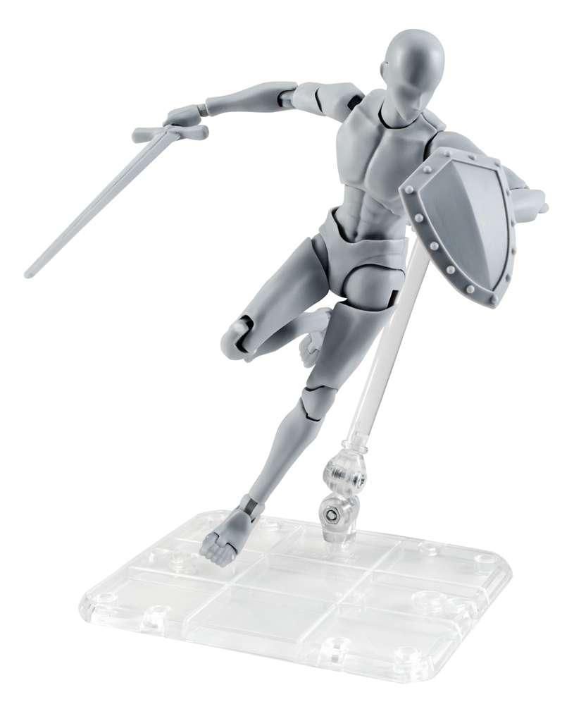 S.H. Figuarts Body-kun -Takarai Rihito- Edition DX SET Action Figure [Gray Color Ver] by Bandai