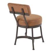 Cedarvale Upholstered Side Chair (Standard Fabric in Black, Natural Black)
