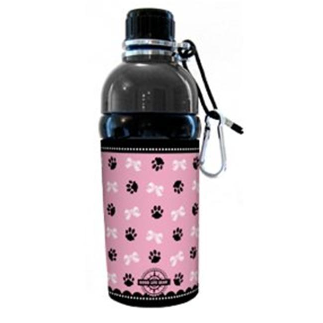 Good Life Gear SF6035-5 PR 16 oz.  BPA Free Travel Water Bottle For Pets - Princess