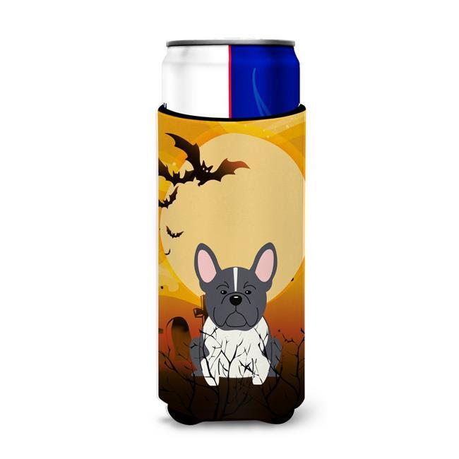 Carolines Treasures BB4276MUK Halloween French Bulldog Cream Michelob Ultra Hugger for Slim Cans - image 1 de 1