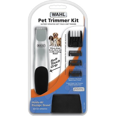 wahl battery operated pet trimmer kit 1 ea pack of 2. Black Bedroom Furniture Sets. Home Design Ideas