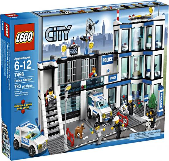 Lego City Police Station Play Set by LEGO Systems, Inc.