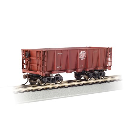 Bachmann 18604 HO Duluth, Missabe & Iron Range Ore Car # 71302 (rouge minérale)