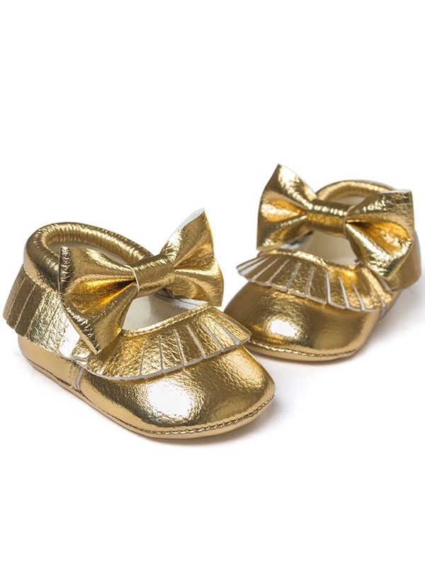 4584991cdb8c Babula Baby Girl Soft Soled PU Leather Shoes Fit 0-18Month - Walmart.com