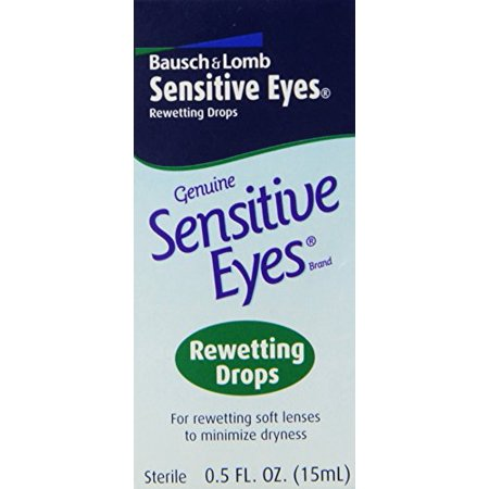 Bausch & Lomb Sensitive Eyes Rewetting Drops 0.50 oz