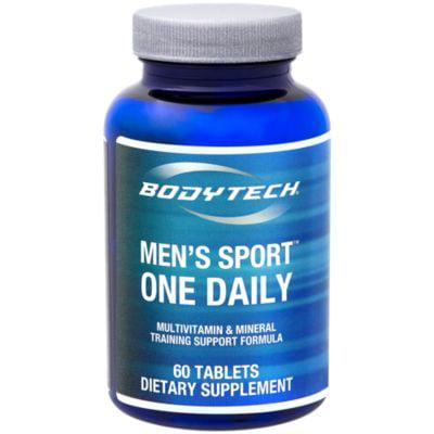 (BodyTech Men's Sport One Daily Multivitamin  Mineral  Training Support Formula  60 Servings (60 Tablets))