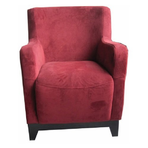 Emerald Home Amanda Accent Chair - Red