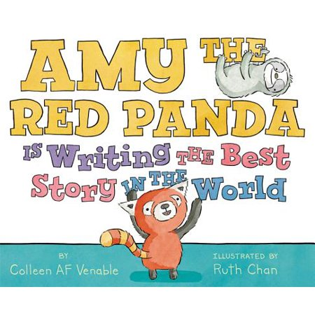 Amy the Red Panda Is Writing the Best Story in the World](Halloween Words For Story Writing)