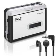 PYLE PCASRSD17 - Cassette Player with MP3 Converter Recorder - Tape Audio Digitizer