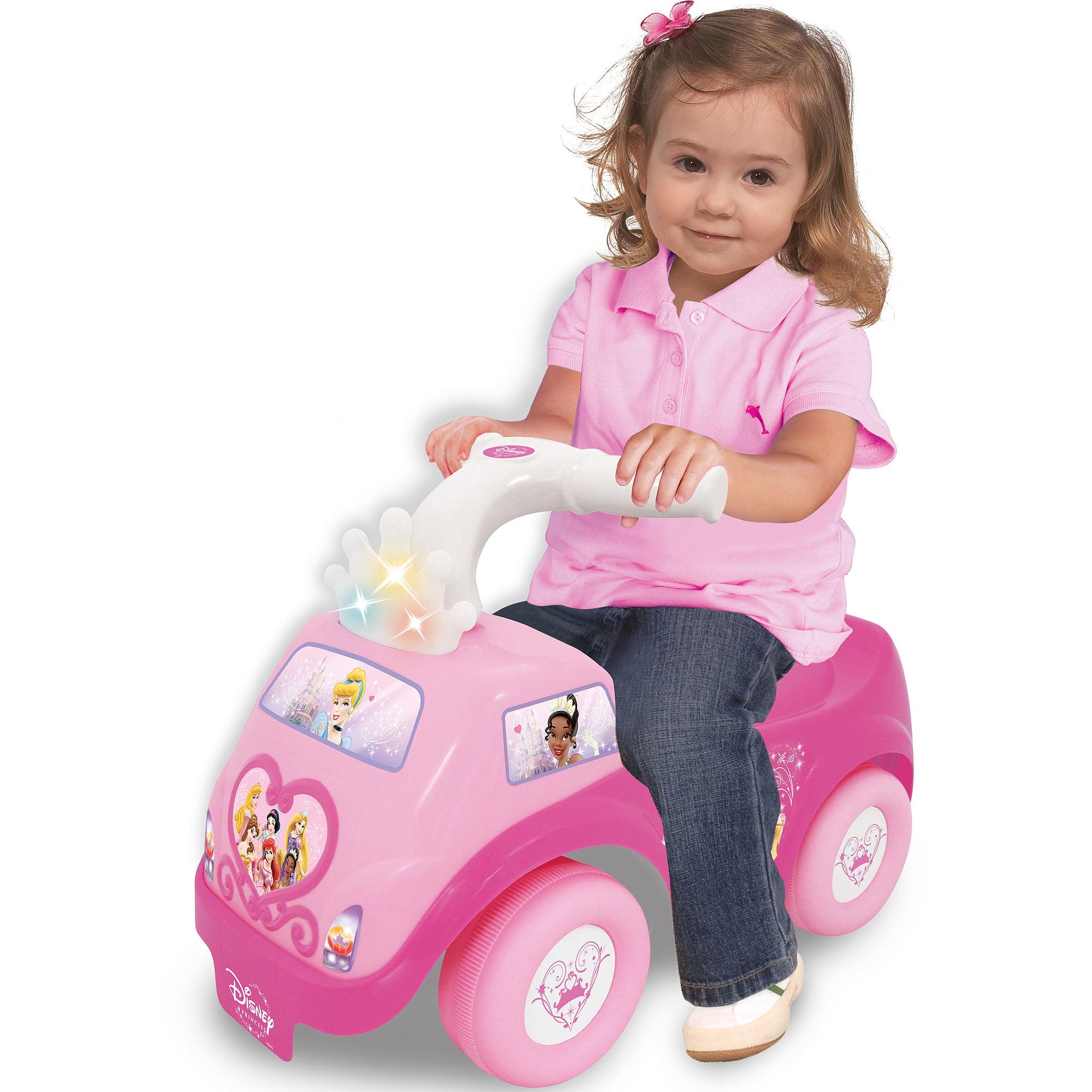 Kiddieland Disney Princess Light 'n Sound Ride-On by Kiddieland