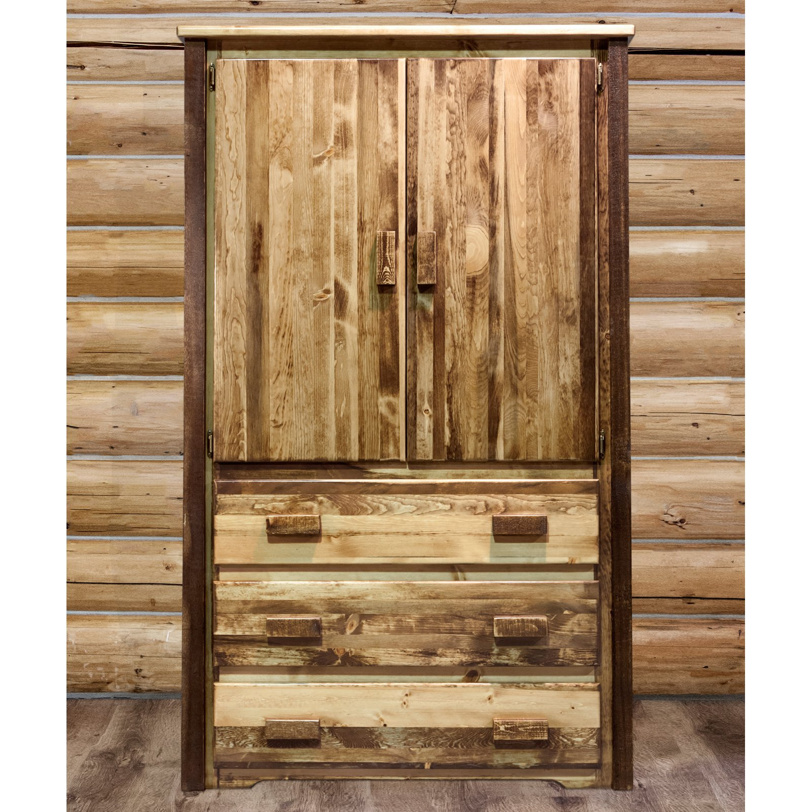 Montana Woodworks Homestead Armoire by Montana Woodworks