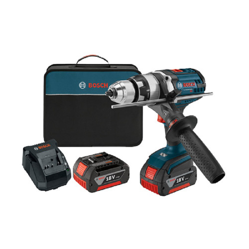 "Bosch Tools HDH181X-01 18V Li-Ion 1 2"" Hammer Drill w Active Response New by Bosch Tools"