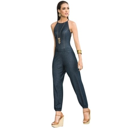 Dazzling Denim Jumpsuit Grupo Espiral 1850 Denim