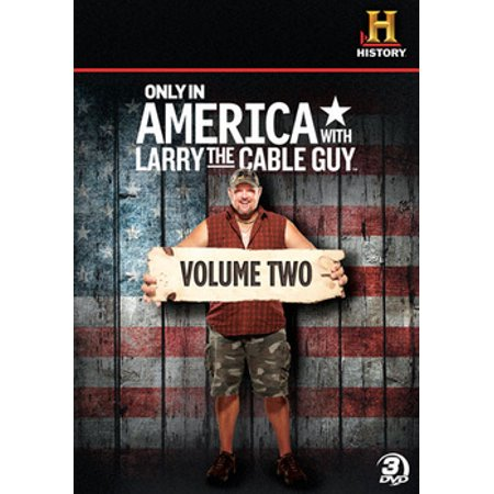 Only In America with Larry The Cable Guy: Volume 2 (DVD) Larry Cable Guy Shows