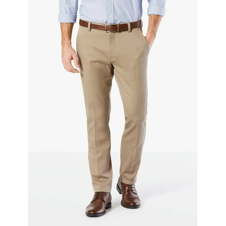 Men's Slim Tapered Easy Khaki with Stretch