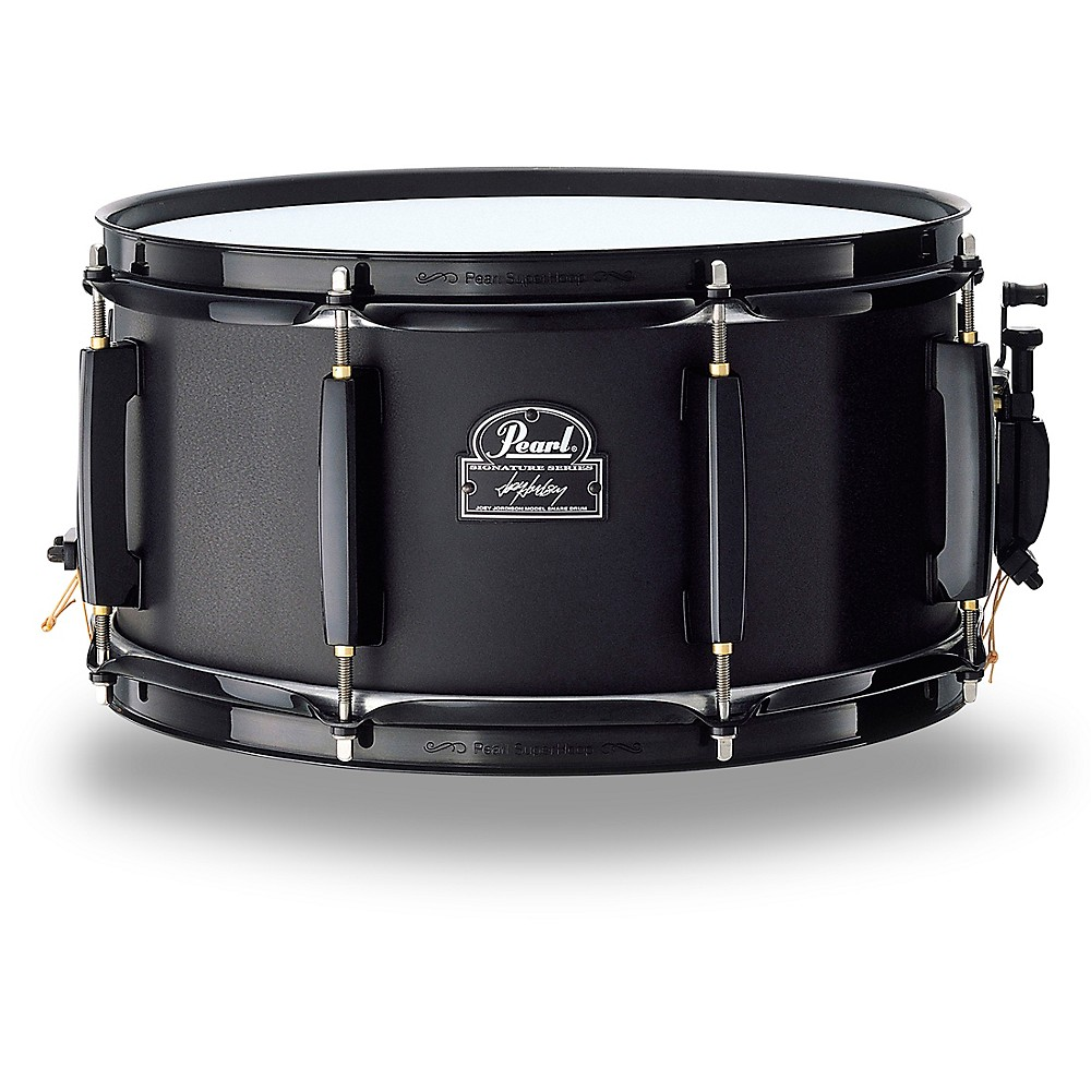 Pearl Joey Jordison Signature Snare Drum 13 x 6.5 in. Black Steel