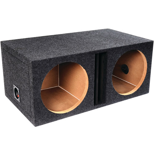 """Atrend-Bbox E10DV B Box Series 10"""" Dual Vented Enclosure with Divided Chambers"""