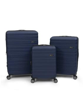 iFLY Hard Sided Luggage Jetway 3 piece set