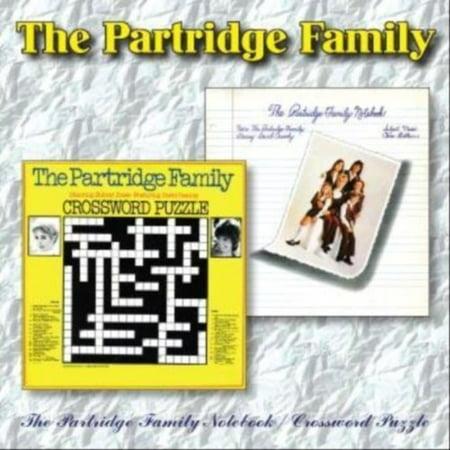 Partridge Family Notebook   Crossword Puzzle