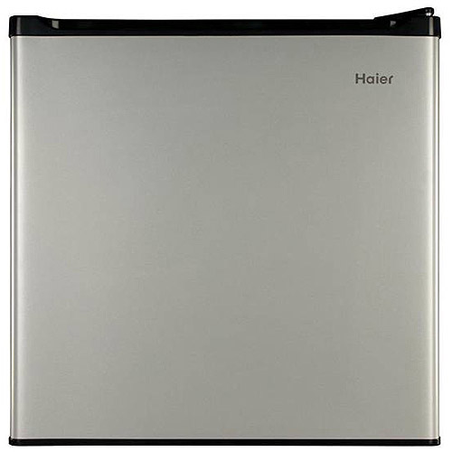 Haier 1.7 cu ft Refrigerator and Freezer, Grey