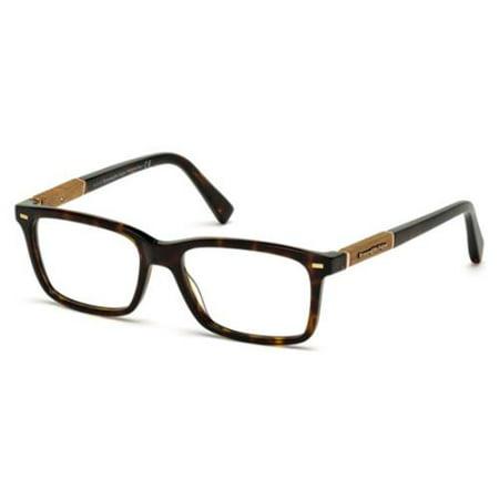 ERMENEGILDO ZEGNA Eyeglasses EZ5037 052 Dark Havana - Zinna Glasses