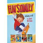 Flat Stanley 4 Books in 1! : Flat Stanley, His Original Adventure; Stanley, Flat Again!; Stanley in Space; Stanley and the Magic Lamp