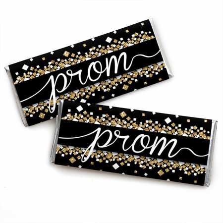 Prom - Candy Bar Wrapper Prom Night Party Favors - Set of 24 - Prom Favors